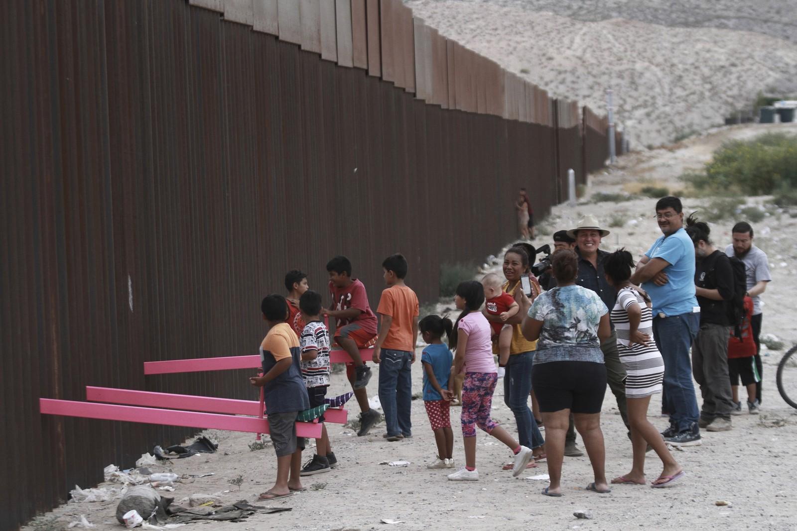 Você viu o que os Arquitetos aprontaram na fronteira entre os EUA e o México?